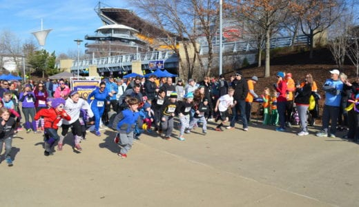 Start of the 2017 PH5K in PIttsburgh