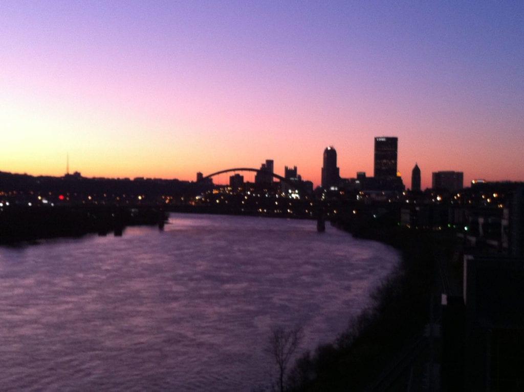 Skyline of Pittsburgh, PA, USA