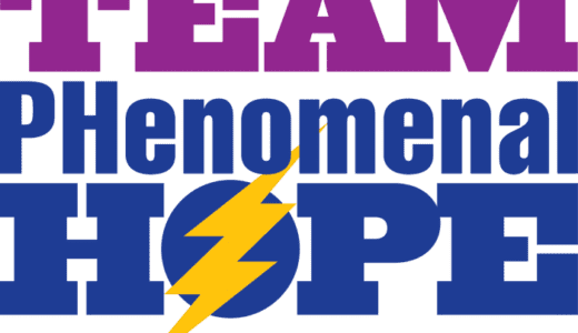 The new 2015 Team PHenomenal Hope Logo