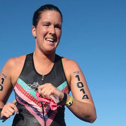 Amanda Budzowski Race Report-Transition