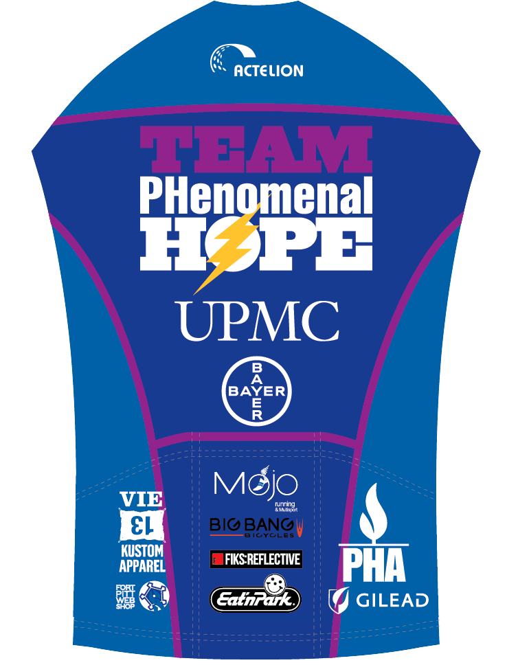 2015 Team PHenomenal Hope Racing Kit - back