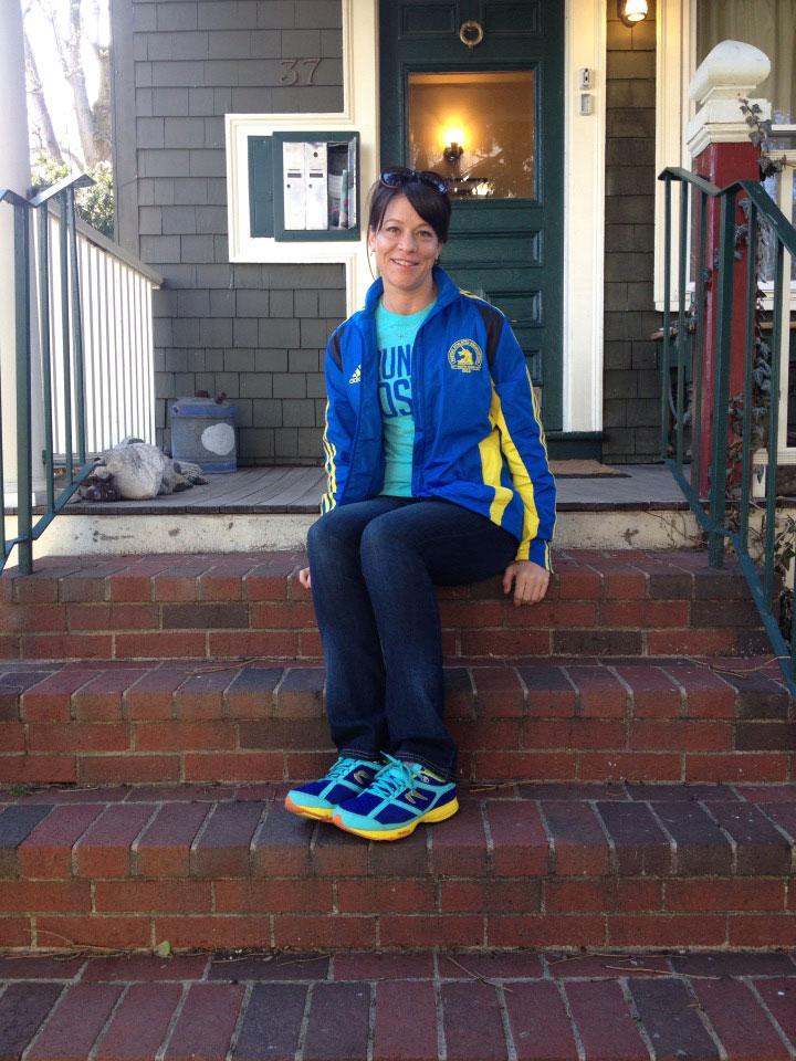 Monica Reisz- on the porch