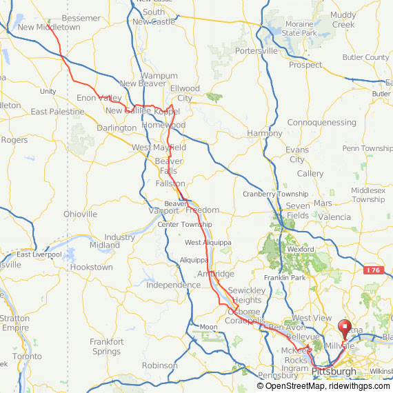 randonneuring 200km map