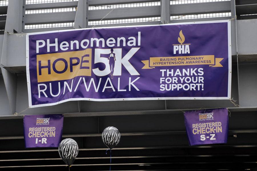 the 2015 PHenomenal Hope 5k banner