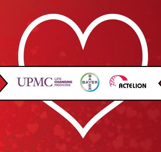 February Love for Team PH Sponsors UPMC, Bayer Healthcare, and Actelion LTD