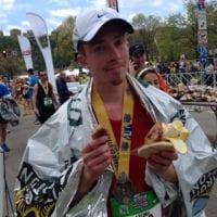 John Ries post race