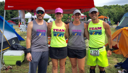 The 2016 Brazil team in the Ragnar 2016