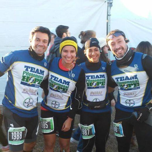 Paula M and her Team PH Brasil teammates