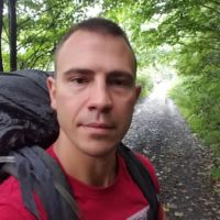 James Ashbaucher hiking