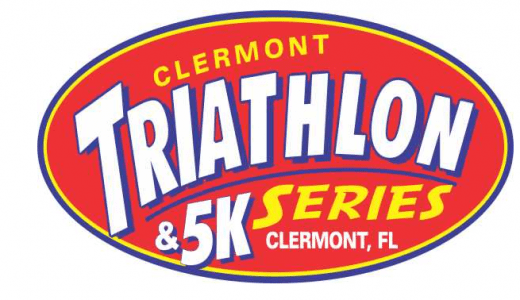 Clermont, Florida sprint triathlon logo