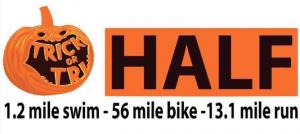 2017 Trick or Tri 70 miler logo