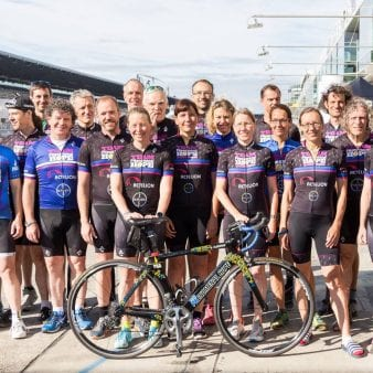 Teammates at 2017 Rad am Ring